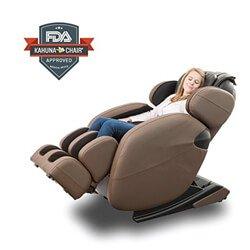 Full-Body Zero Gravity Space Saving L-Track Kahuna Massage Chair