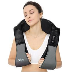 Thinp Shiatsu Deep Kneading Massage Adjustable Neck & Shoulder Massager