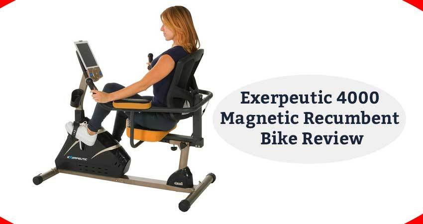 Exerpeutic 4000 Magnetic Recumbent Bike Review