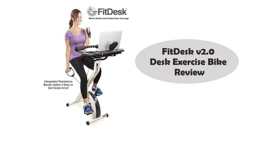 FitDesk v2.0 Desk Exercise Bike Review