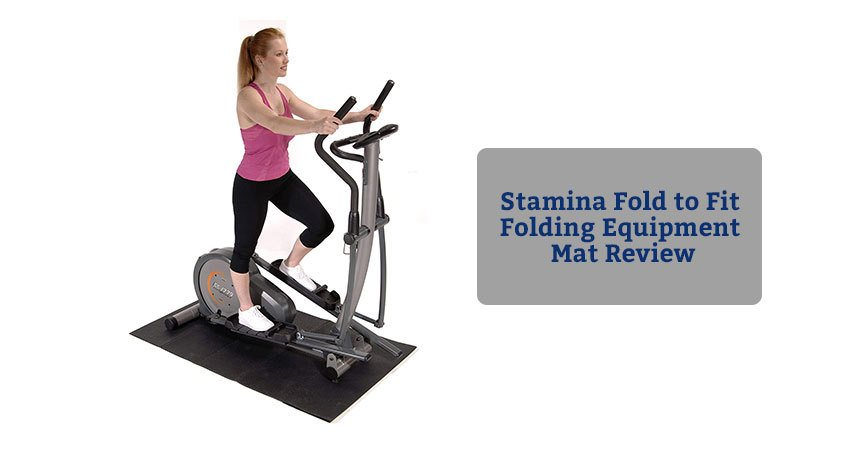 Stamina Fold to Fit Folding Equipment Mat