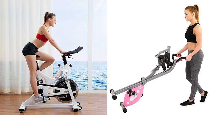 The Sunny Health and Fitness Indoor Cycling Bike