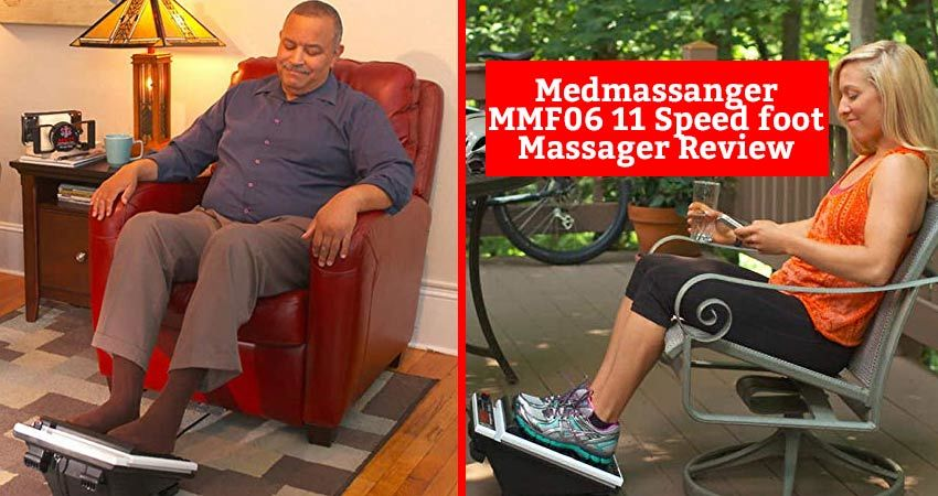 Medmassanger MMF06 11 Speed foot Massager Review